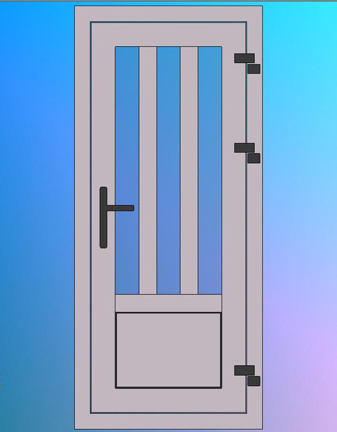 Vooraanzicht-Model-B