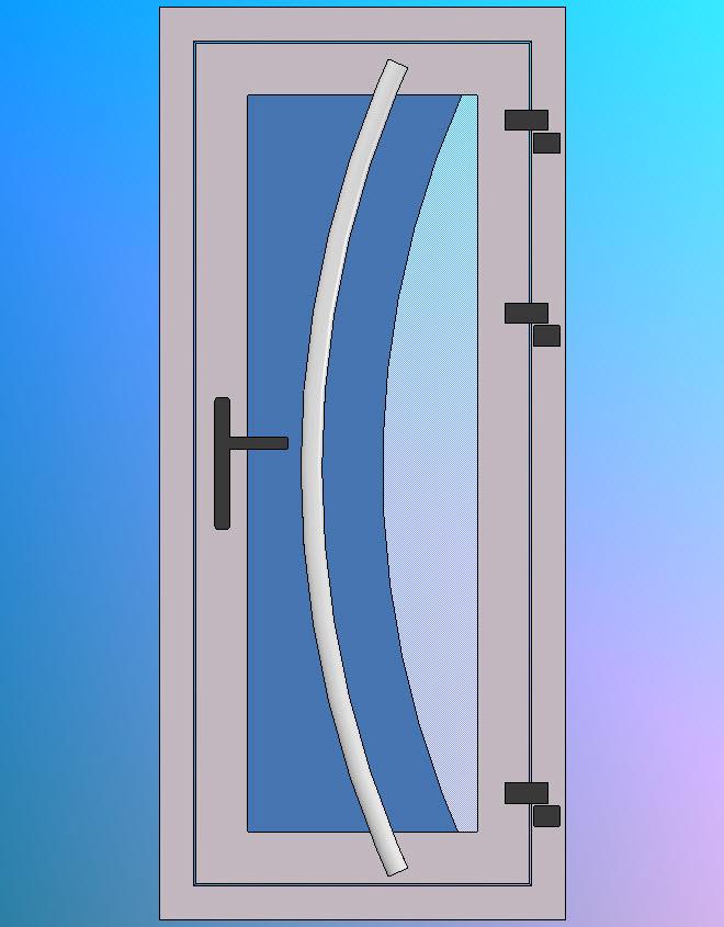Vooraanzicht-Model-D