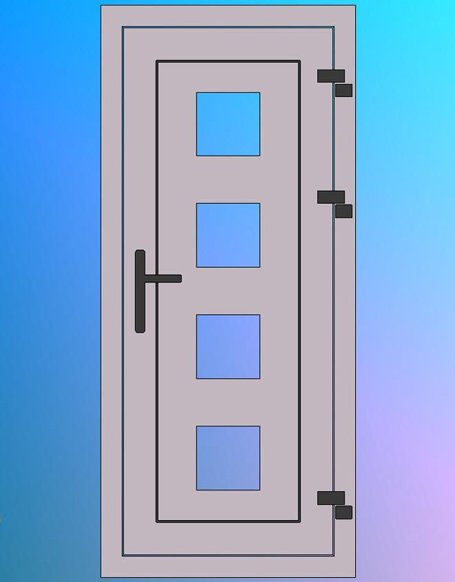 Vooraanzicht-Model-O
