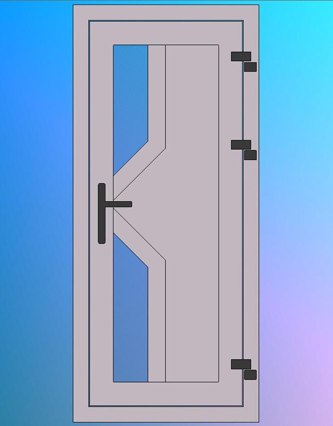 Vooraanzicht-Model-P